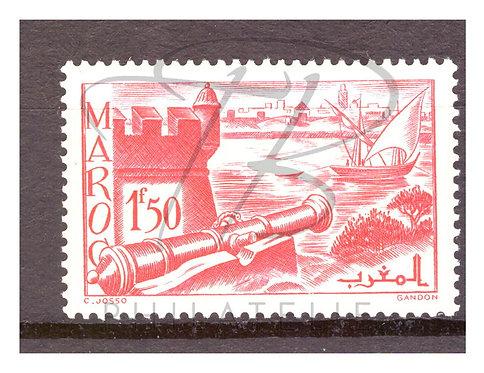 Maroc n°187 , *