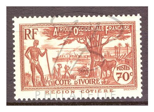 Côte d'Ivoire n°155 , *