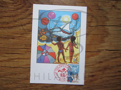 Carte maximum n°1828