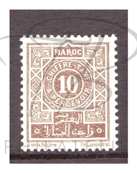 Maroc taxe n°29 , *