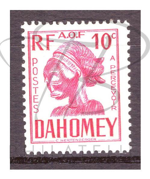 Dahomey taxe n°20 , *