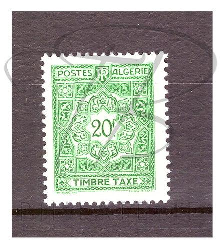 Algérie taxe n°45 , **