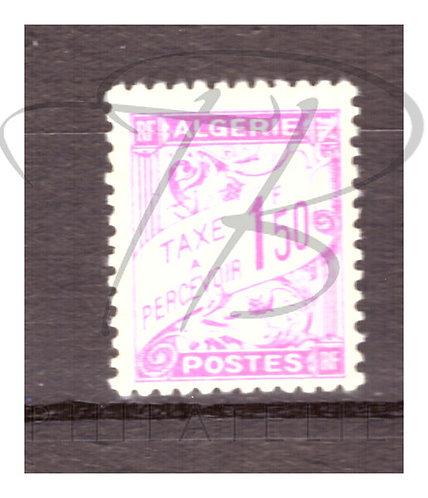 Algérie taxe n°29 , *