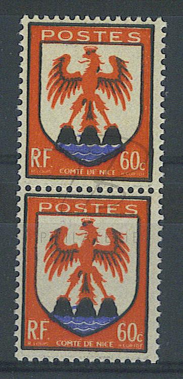 France n°758 en paire, liaison des 2 rochers , **
