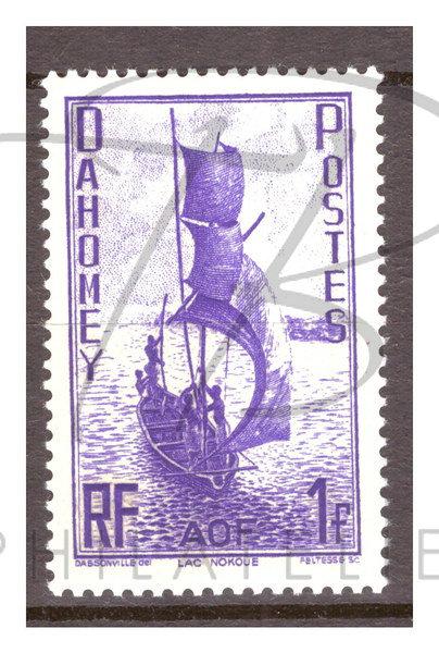 Dahomey n°132 , *