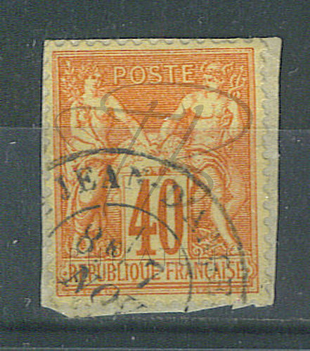 """France n°70, cachet """"ST-JEAN D'ANGELY"""""""