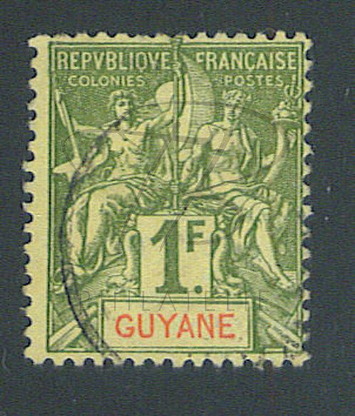 Guyane n°42 , (b)