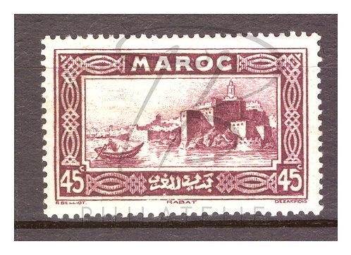 Maroc n°138 , *