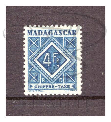 Madagascar taxe n°37 , **