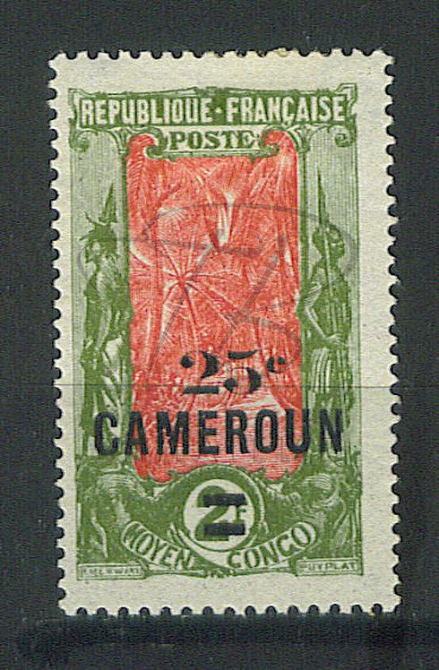 Cameroun n°102 , *