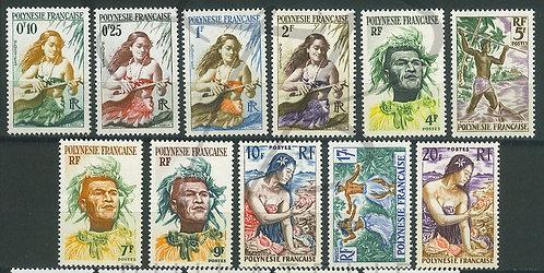Polynésie française n°1-11 , **
