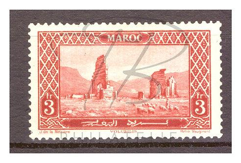 Maroc n°121 , *