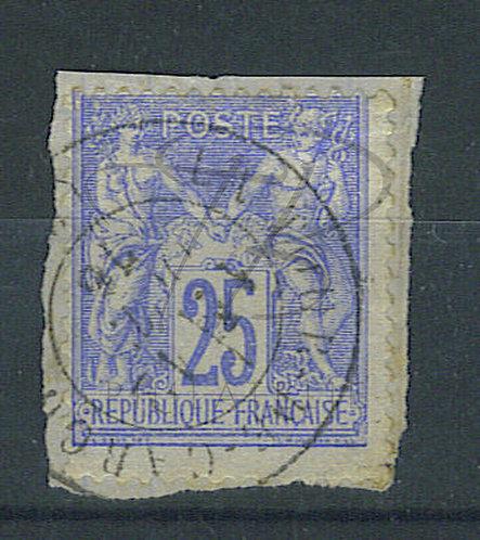 """France n°78, cachet """"LA TOUR DE CAROL"""" (b)"""
