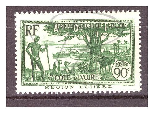 Côte d'Ivoire n°156 , *