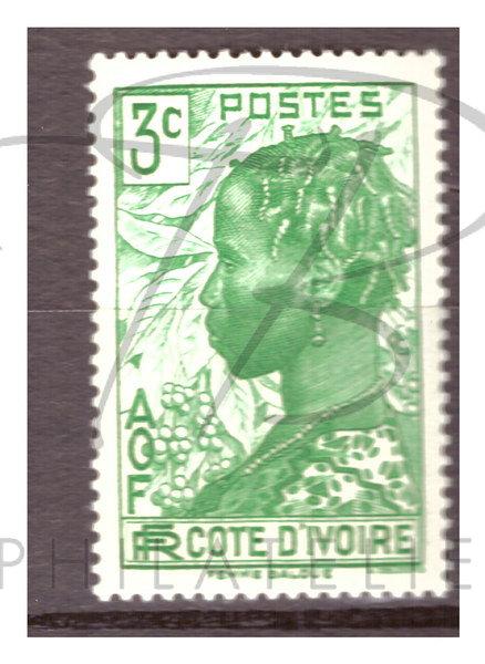 Côte d'Ivoire n°151 , *
