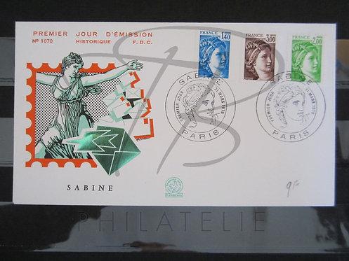 FDC n°1975+1977+1979 (b)