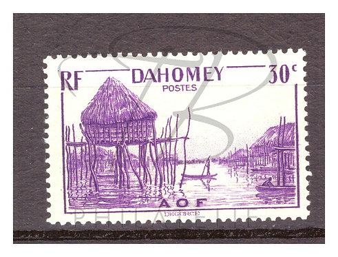 Dahomey n°126 , **