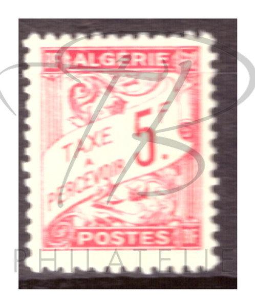 Algérie taxe n°31 , *