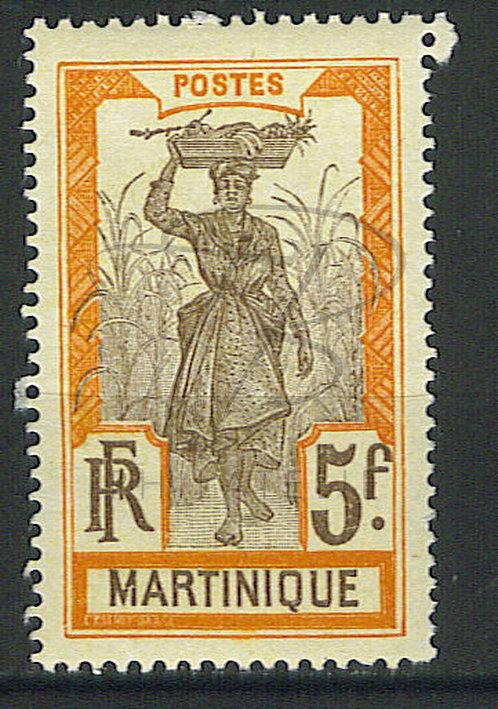 Martinique n°77 , * (b)