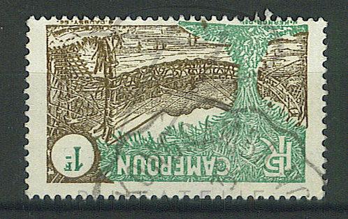"Cameroun n°143 , cachet convoyeur ""N'KONG-SAMBA"""
