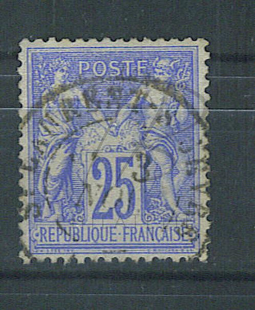 """France n°78, cachet """"ST-LAURENT S SEVRE"""""""