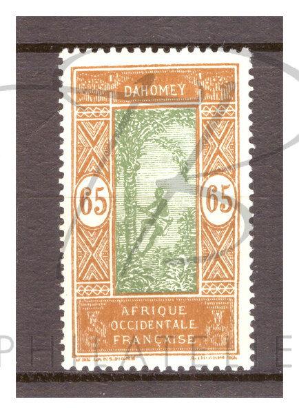 Dahomey n°76 , *