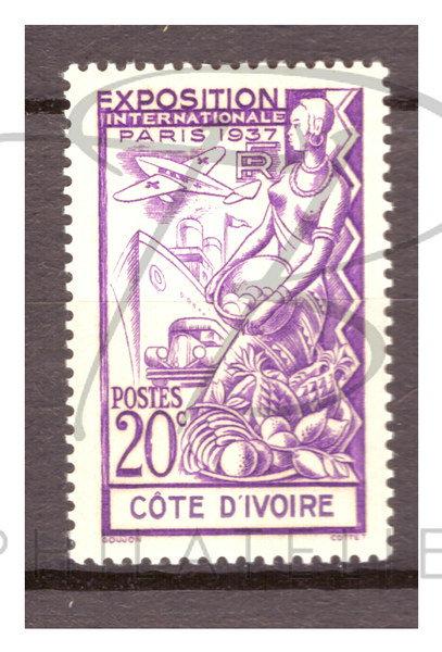 Côte d'Ivoire n°133 , **