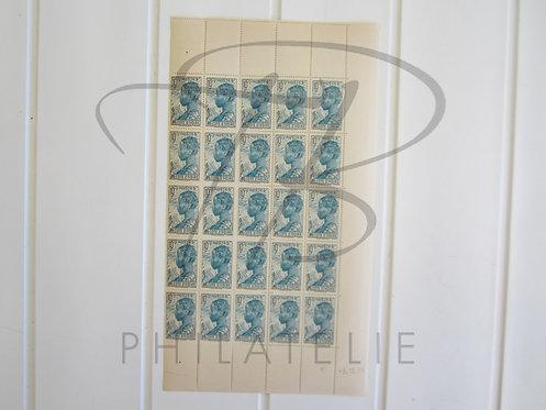 Côte d'Ivoire n°113 , en demie-feuille , *