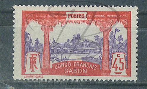 Gabon n°43 , *