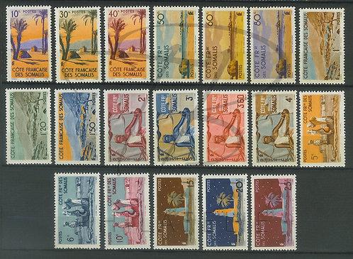 Somalis n°264-282 , *