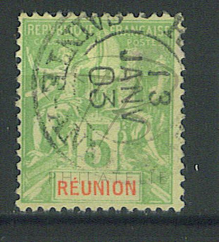"""Réunion n°46 , cachet """"SAINTE-ANNE"""""""