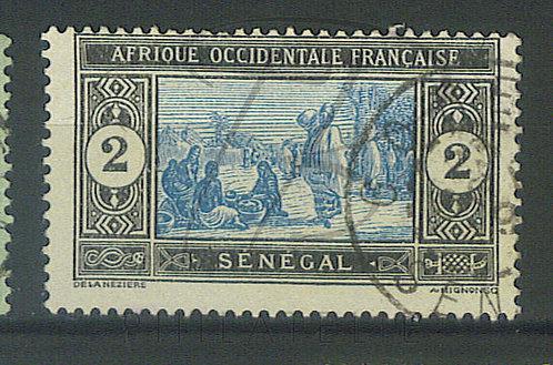 """Sénégal n°54 , cachet """"GOREE"""""""