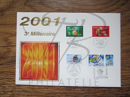 FDC 2001 3° Millénaire