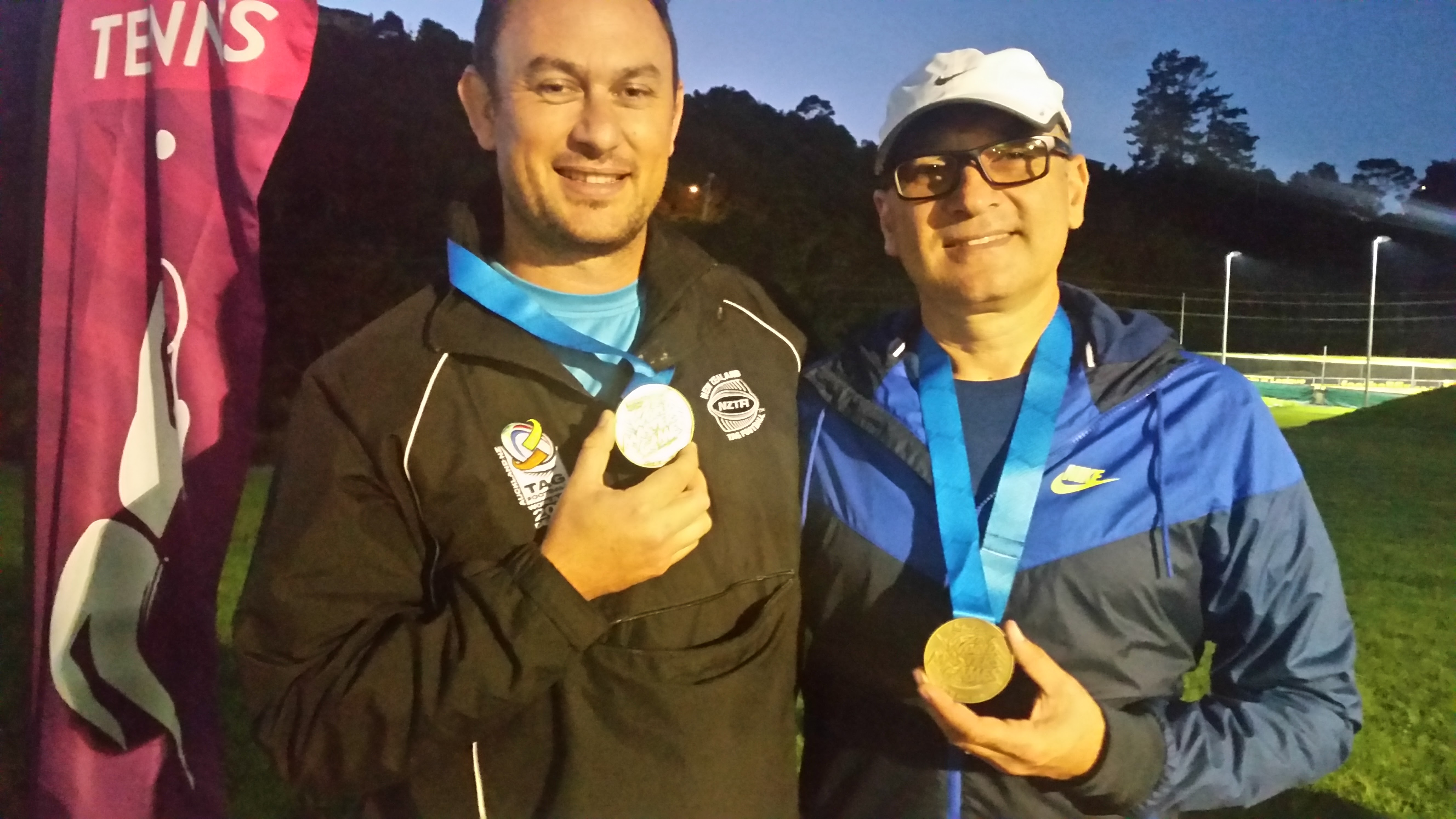 Gold Medalist ( doubles)/ Bronze ( Singles)