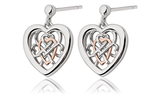 Clogau Welsh Royalty Earrings, 3SWLRE.