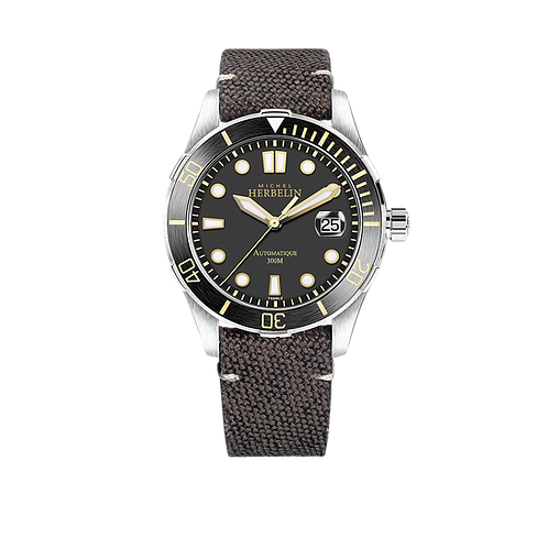 Michel Herbelin Mens Trophy Watch, 1660/ATN14..