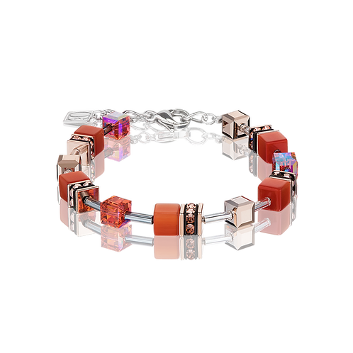 Coeur De Lion Bracelet dark orange, 4016300221.