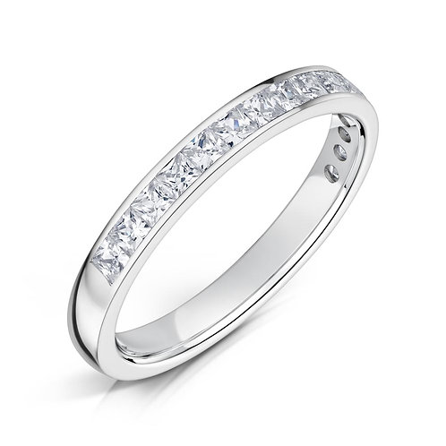 Diamond Eternity Ring 0.30cts, 18ct White Gold.