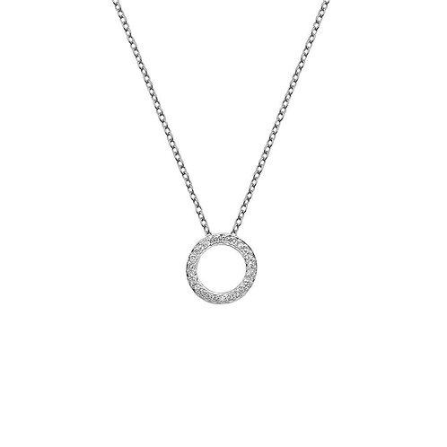 Hot Diamonds Sliver Flora Pendant, DP661.