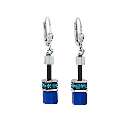 Coeur De Lion Earrings Blue Green, 2838200705.