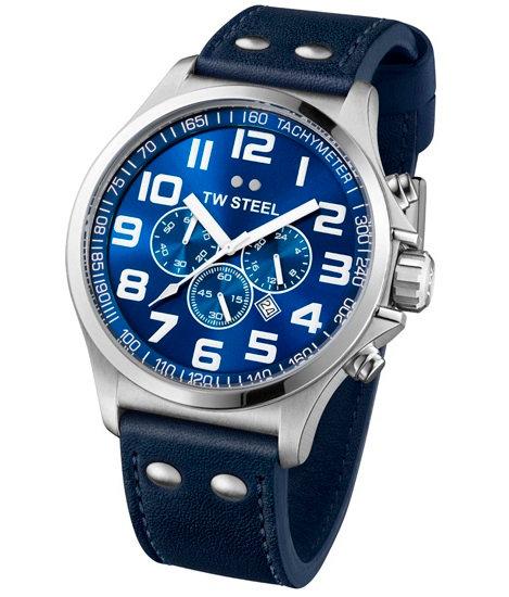 TW Steel Mens Pilot Chronograph Watch, TW403