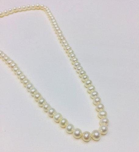 Freshwater Pearls 6mm, 18 inches.