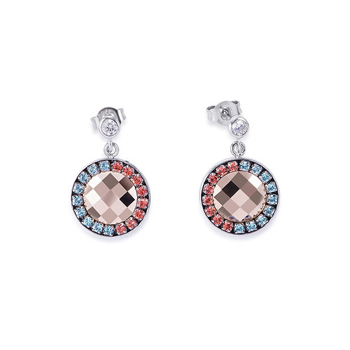Coeur De Lion Earrings Amulet Swarovski® Crystals, 4954212003.