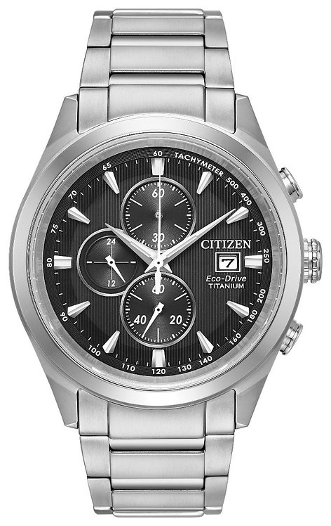 Citizen Mens Titanium Watch, CA0650-58E