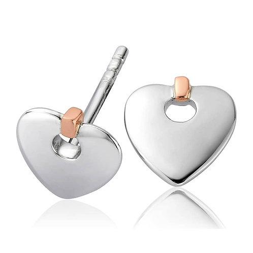 Clogau Cariad Heart Earings, 3SCE012.