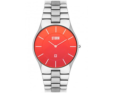 Mens Strom Watch, Slim-X Xl Lazer Red.
