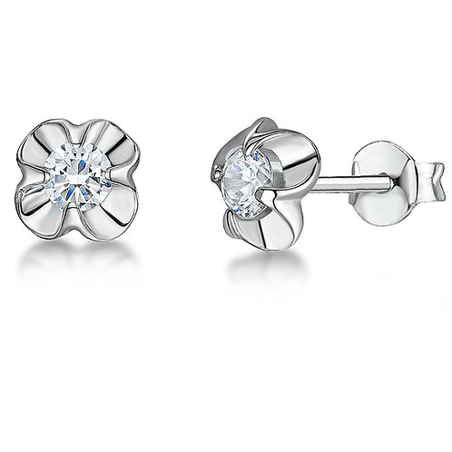 Jools Sterling silver stud Earrings kpe034