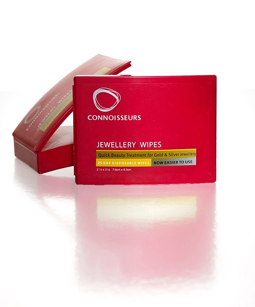 Connoisseurs Jewellery Wipes, 7.6 CM X 8.9 CM . MODEL 776.