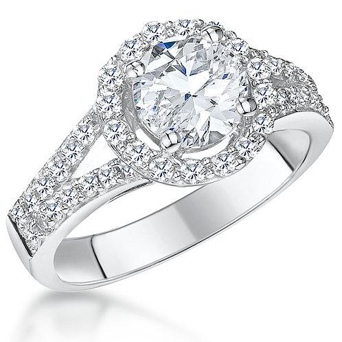 Jools Silver CZ Ring KPR10872