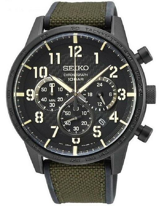 Seiko Mens Quartz Chronograph Watch Ref. SSB369P1